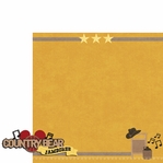 Frontierland: Country Bears 2 Piece Laser Die Cut Kit