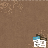 Frontierland: Fastpasses 12 x 12 Paper