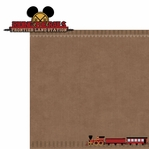 Frontierland: Frontier Train 2 Piece Laser Die Cut Kit