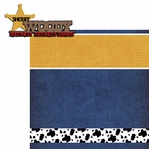 Frontierland: Woody 2 Piece Laser Die Cut Kit