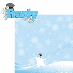 Frosty: Frosty 2 Piece Laser Die Cut Kit