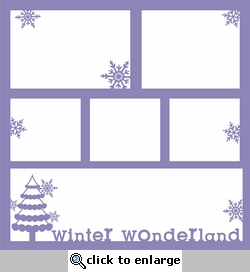 Frosty Fun 12 x 12 Overlay