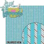 Frosty Fun: Brrrrr Hot Cocoa 2 Piece Laser Die Cut Kit