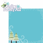 Frosty Fun: In The Frosty Air 2 Piece Laser Die Cut Kit