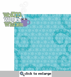 Frosty Fun: Warm Winter Wishes 2 Piece Laser Die Cut Kit