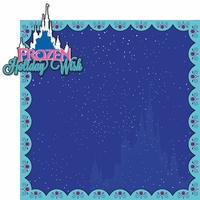 Frozen Holiday Wish 2 Piece Laser Die Cut Kit