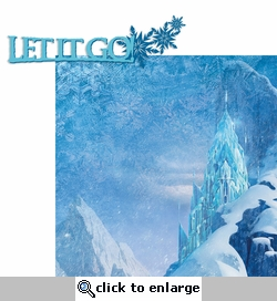 Frozen: Let It Go 2 Piece Laser Die Cut Kit