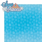 Frozen: Snow Princess 2 Piece Laser Die Cut Kit