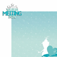 Frozen:Worth Melting 2 Piece Laser Die Cut Kit
