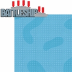 Fun And Games 2: Battleship 2 Piece Laser Die Cut Kit