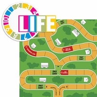 Fun And Games 2: Life 2 Piece Laser Die Cut Kit