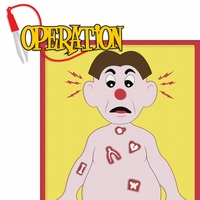 Fun And Games 2: Operation 2 Piece Laser Die Cut Kit
