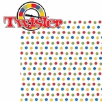 Fun And Games 2: Twister 2 Piece Laser Die Cut Kit
