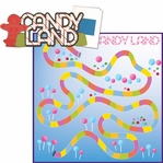 Fun And Games: Candy Land 2 Piece Laser Die Cut Kit