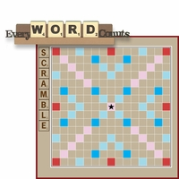 Fun And Games: Every Word Counts 2 Piece Laser Die Cut Kit