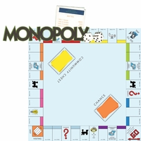 Fun And Games: Monopoly 2 Piece Laser Die Cut Kit