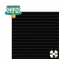 Furever: Bad to the Bone 2 Piece Laser Die Cut Kit