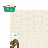 Furever: Did you say Food?  2 Piece Laser Die Cut Kit