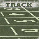 Game Day: Track 12 x 12 Double-Sided Paper