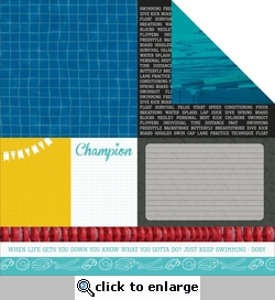 Game On: Athlete 12 x 12 Double-Sided Cardstock