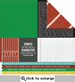 Game On: Champion 12 x 12 Double-Sided Cardstock