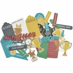 Game On:  Collectables Cardstock Die Cuts