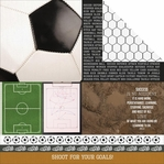 Game On: First Place 12 x 12 Double-Sided Cardstock