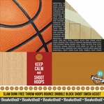 Game On: Play Hard 12 x 12 Double-Sided Cardstock