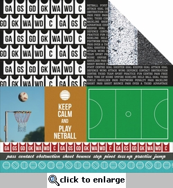 Game On: Player 12 x 12 Double-Sided Cardstock