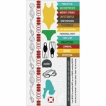 Game On:  Swimming 6 x 12 Cardstock Sticker Sheet