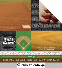 Game On: Winner 12 x 12 Double-Sided Cardstock