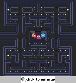 Gamer: Pac Man 12 x 12 Paper