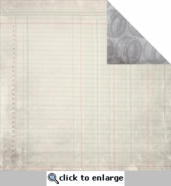 Garage Days: Nuts & Bolts 12 x 12 Double-Sided Cardstock