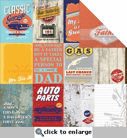 Garage Days: Workshop 12 x 12 Double-Sided Cardstock