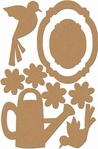 Garden Fun: Garden Wood Shapes