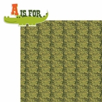 Gatorriffic: A is for... 2 Piece Laser Die Cut Kit