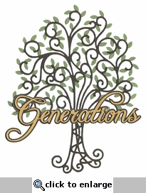 Generations Laser Die Cut