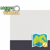 Geocaching: Looking For Treasure 2 Piece Laser Die Cut Kit
