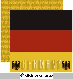 Germany 12 x 12 Double-Sided Cardstock