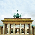 Germany: Brandenberg Gate 12 x 12 Paper
