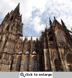 Germany: Cologne Cathedral 12 x 12 Paper