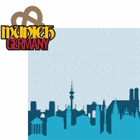 Germany: Munich 2 Piece Laser Die Cut Kit