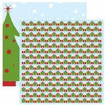 Gift Wrapped 12 x 12 Double-Sided Shimmer Cardstock