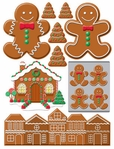 Gingerbread Lane: 3D Candy Sticker