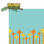 Giraffe: Reach new heights 2 Piece Laser Die Cut Kit