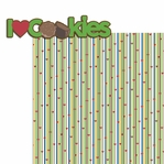 Girl Scout: I heart Cookies 2 Piece Laser Die Cut Kit