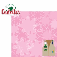 Girl Scouts: Cadettes 2 Piece Laser Die Cut Kit
