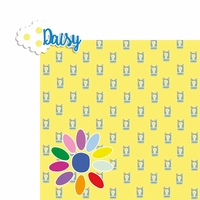 Girl Scouts: Daisy Flower 2 Piece Laser Die Cut Kit