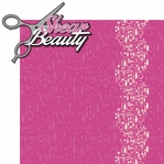 Glamour Girl: Shear Beauty 2 Piece Laser Die Cut Kit