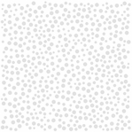Glazed: Bazzill White With Polka Dot 12 x 12 Glazed Cardstock